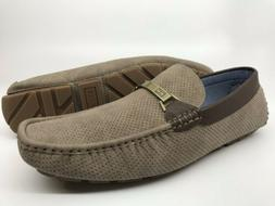 Tommy Hilfiger Men's Axtons Drivers Loafers Size 11 M Taupe