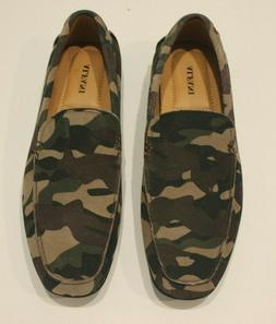 Alfani Men's Bromley Camo Suede Slip-On Driver Shoes Moccasi