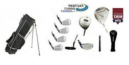 MEN'S LEFT HAND EXTRA TALL TECH EXECUTIVE GOLF CLUB SET DRIV