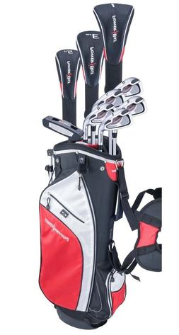 MEN'S TALL POWERBILT GOLF CLUB SET 460 DRIVER+3 WD+HYBRID+6-