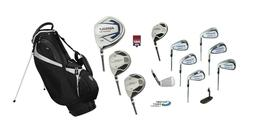 Magnum-TCI Men's Complete Golf Set wBag+Driver, Woods+Hybrid