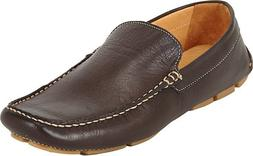 Men's Barneys New York Venetian Drivers Loafers Sz 7 Dark Br