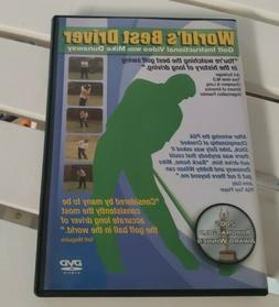 Mike Dunaway World's Best Driver DVD