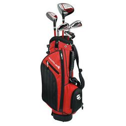 NEW Orlimar ATS Junior Boys Red/Black Series Golf Set w/ Dri