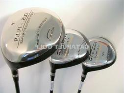 NEW HUGE #1 DRIVER 3 5 FAIRWAY WOOD GOLF CLUBS MASSIVE OS DR