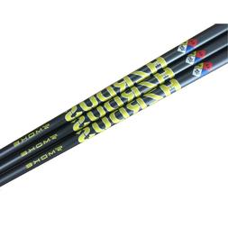 New Project X HZRDUS Smoke Yellow Driver Shaft With Adapter