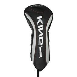 NEW Cobra King F9 Black/Silver Driver Headcover