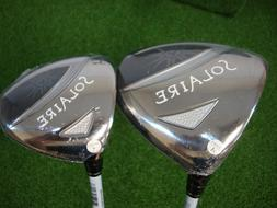 NEW LH WOMENS CALLAWAY SOLAIRE 11* DRIVER + 3 WOOD 3W WOMENS
