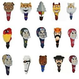NEW Team Effort NCAA Mascot Driver Head Cover - Pick Your Te