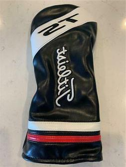 *NEW* TITLEIST TS DRIVER HEADCOVER BLACK/WHITE/RED