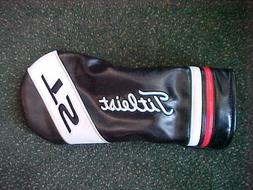 NEW TITLEIST TS DRIVER HEADCOVER, HEAD COVER BLACK RED WHITE