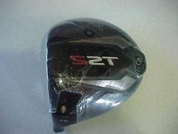 NEW TITLEIST TS2 9.5 DRIVER HEAD ONLY,  IN SHRINK WRAP, SURE