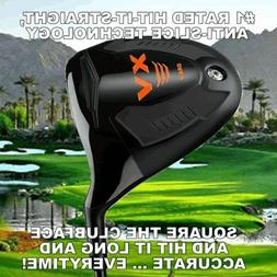 New #1 Offset Anti-Slice Draw Closed Face Golf Driver 10.5 o