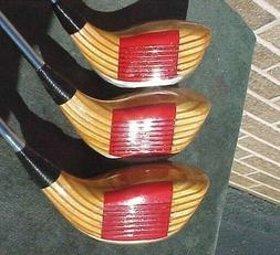 OVERSIZED PING ZING Set Woods Refinished Golf Clubs Driver 3