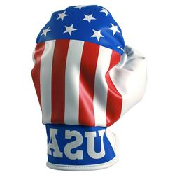 Patriotic Boxing Glove Driver Head Cover