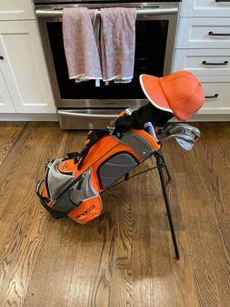 Cobra Rickie Fowler Junior Golf Club Set 6-9 Yr Old Driver,H