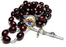 Relic Rosary 3rd class of Saint Christopher bachelors, trans