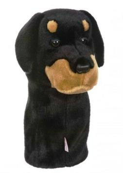Rottweiler Golf Club Head Cover Daphne's Headcovers