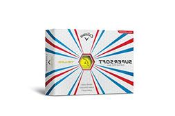 Callaway SuperSoft Golf Balls Yellow 12 Pack