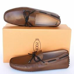 Tod's Brown Gommini Drivers Loafers Shoes 6.5 MEN'S OR 8.5