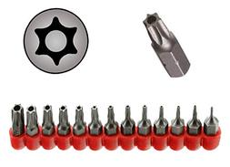 Ram-Pro 13Pc Torx Star 6 Point, Security Tamper Proof, Drive