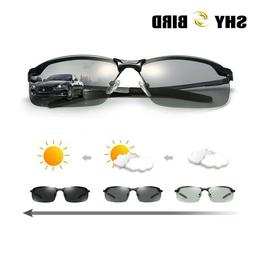 US Men Polarized Photochromic Outdoor UV400 Driver Transitio