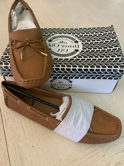 Driver Club USA Women's Leather Nantucket Tie-Bow Loafer Dri
