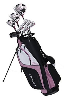 Ladies' Pink Golf Club Set for Petite Ladies , Right Handed,