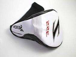 Srixon Z 355 Men's Driver Headcover White Black and Red Golf